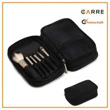 custom zipper travel makeup artist Nylon make up brush bag