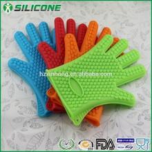2015 Hot sale unique design disposable gloves silicone