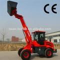 tracteur de marche tl2500 chargeuse sur pneus chinois