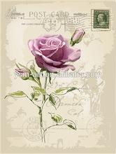 flower designs fabric painting