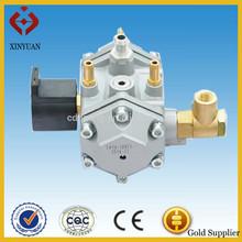 CNG gas multi point injection reducer/regulator for V4, V6, V8