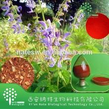 100% Natural Radix Salviae Miltiorrhizae Extract