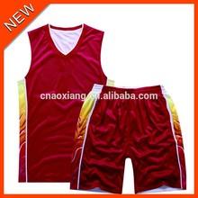 High school good looking fashion basketball jersey