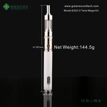 New product 2015 arriving 2200mah adjustable voltage battery ego II Twist 2200mah ego vaporizer pen
