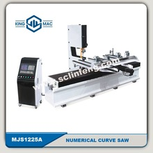 HOT SELL wood CNC curve saw machine MJ1225A