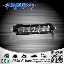 "6"" single row led light bar led light jeep wrangler"
