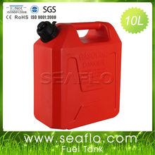 Diesel Fuel Storage Tank SEAFLO 10 Liter 2.6 Gallon Red Diesel Tank