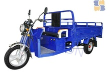 200cc water cool three wheel dumper motorized cargo tricycle with cabin
