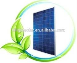 Top efficiency polycrystalline solar panel 100w 12v