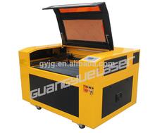 China GY6090 600x900mm 60W80W100W PVC Paper Fabric boye laser cutting machine