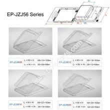EP-JZJ56 Clam Shell Box Clear plastic Box