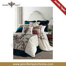 home textile american style embroidery bedding set