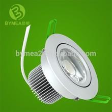Hot sale COB LED Swing Downlight 3 inch 6.5w/9w/13w CE/Rohs approval