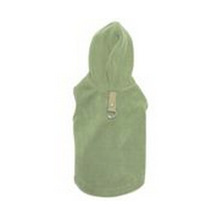 Green Fleece Hoodie Dog Coats , pets and dogs , dog apparel pet clothes