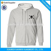 Custom Design Fleece Zip Up Hoodie Stylish Full Zip Soft Cotton Warm Unisex
