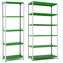 china certified standard light duty angle iron rack/shelving