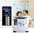 de alta pureza del hogar portátil concentrador de oxígeno de la máquina con la función de nebulización