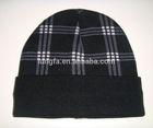 Good quality bottom price heavy knit beanie skiing knit hats