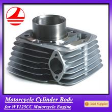 Factory wave 125 engine parts motorcycle cylinder set cbf125 go kart engine 125cc parts
