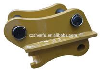 Excavator attachment spare mini Manual Quick hitch/ Quick coupler