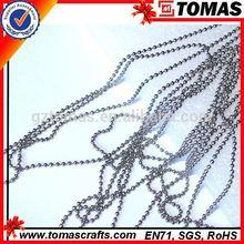 High quality custom necklace plain chain