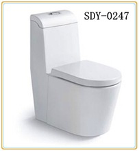 Hight quality ceramic bathroom toilet product siphonic one piece toilet bowl price