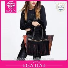 new product 2015 women bags, nylon revit,tassels shoulder bag alibaba italia