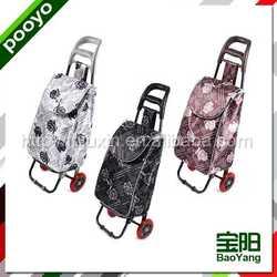 supermarket shopping trolley black travel bag for traveler