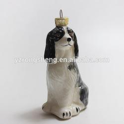 christmas decoration supply plastic artificial pet dog