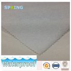 High quality terry cloth laminated with white TPU waterproof fabric for mattress protector