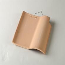 fiber cement red kerala ceramic curved roof tile