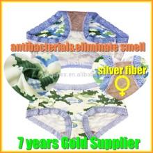 Silver fiber antibacterial Women's underwear