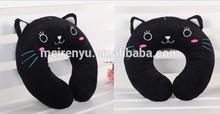 wholesale u shape travel neck pillow children cartoon animal neck cushion