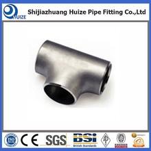stainless steel oil &gas used pipe line steel tee