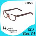 Últimas multicolores marco y lente reflectante hombres de moda óptica gafas