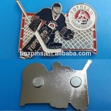 ice hockey lapel pin(BOX-ice hockey badges-01)