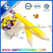 Wholesale Promotional jumbo carpenter pencil/sharpened jumbo color pencil
