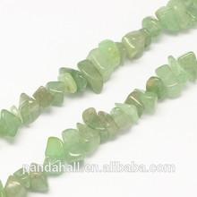 chips stone natural gemstone rough green aventurine stone