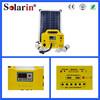 Multifunction panel mobile output solar lantern
