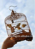 bamboo/wood bird cage