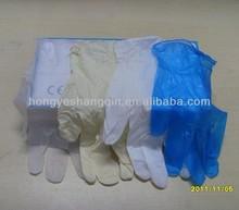 medical exam use disposable powder free vinyl gloves/non latex vinyl gloves/pvc gloves