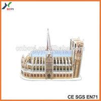 World Famous Building Architecture 3D Puzzle