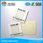 High Performance NTAGG203 Sticker MFI IK S50 Sticker RFID Tags 13.56MHZ Sticker Label