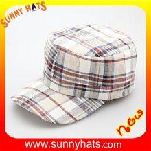Fashion Folding 100% Linen Cap Wholesale In Factory