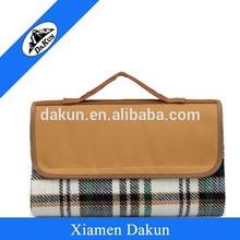 Polar fleece blanket with 600D polyester flap DK14-2456/Dakun