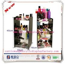 Fashionable and practical high quality acrylic standing new style big nail polish display stand