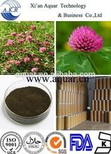 estrógeno vegetal total isoflavonas de trevo vermelho extrato trifolium pratense extrato
