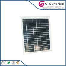 Energy saving high power high efficiency polycrystalline solar panel 130w