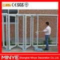 Marque allemande matériel hot vendre porte pliante& bi porte pliante/pliant. portes patio prix avec double verre trempé