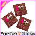 Yason plástico t - camisa de bolsas de alimentos rollo / bolso de la comida sellado lateral de plástico laminado bolsas de embalaje de plástico de la camiseta / bolsas de chaleco